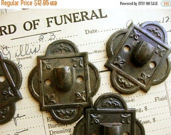 ONSALE One Gorgeous Numbered Rare Antique Architectural Funeral Casket Stunning Salvaged Piece