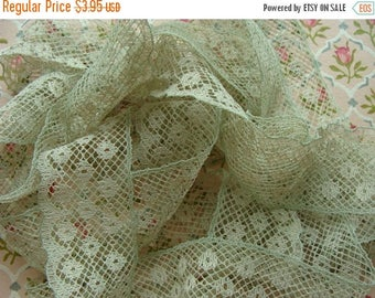 ONSALE Gorgeous Antique French Netted Lace