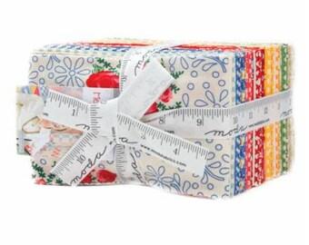 SUMMER SALE - Merry Go Round - Fat Eighths Bundle (36) - American Jane - Moda Fabrics