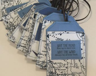 Custom Luggage Tags, Wedding Favors, Personlize your Tags, Bridesmaid Gift, Groomsmen Gift, Destination Wedding, Travel Group Gift