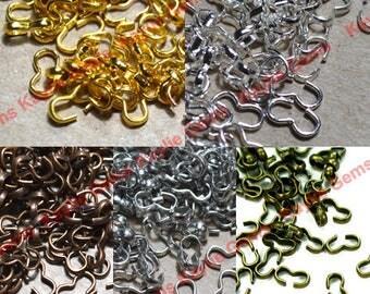 100pcs Open Figure 8 Connectors Loop Rings