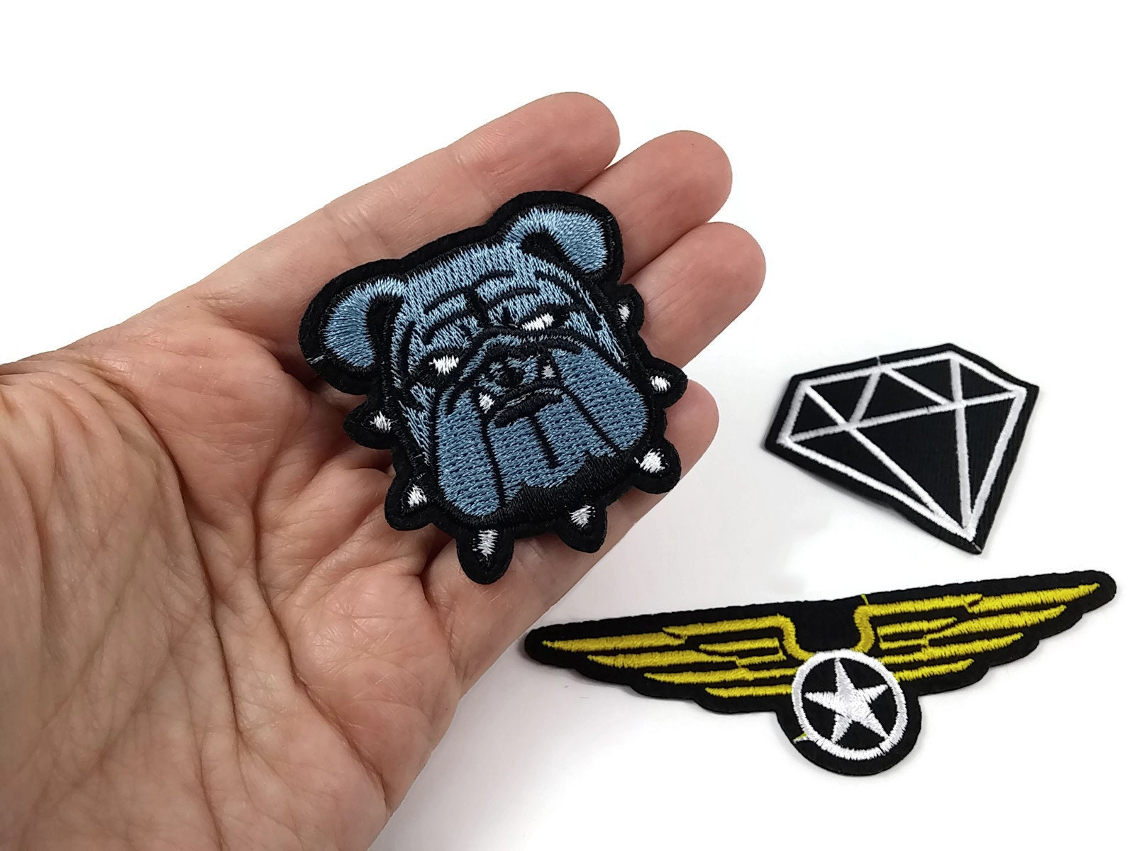 Image result for Embroidered patches cloth