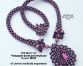 Pineapple Blossom Necklace KIT only for Orchid Mist Color