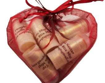 sample sachet MINI STIX organic edible chocolate lip & body balm
