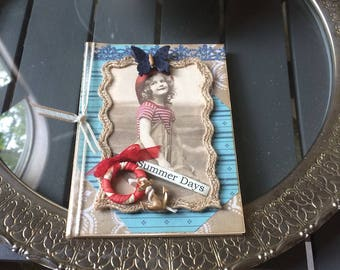 Summer Birthday Card - Girl Summer Birthday Card - Happy Summer Birthday - Young Girl Birthday