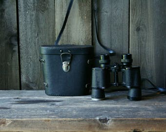 Vintage Bushnell Binoculars And Case 7 x 35  Bird Watching Nature Camping Vintage From Nowvintage on Etsy