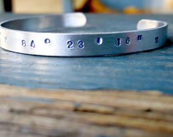 Coordinates Cuff Bracelet Kit