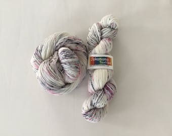 Quail Egg - Hand-dyed Merino Sock Wool 4 ply