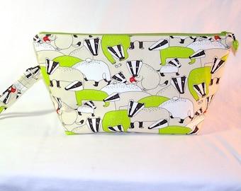 Lime Badgers Beckett Bag - Premium Fabric