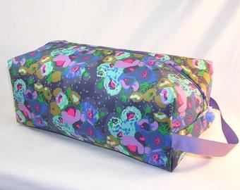 Purple Poppies Sweater Bag