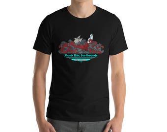 Shark Bite Surf Boards -  T-Shirt