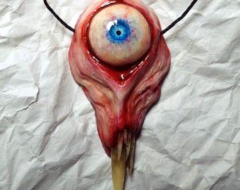 Blue Eye Cyclops pendant