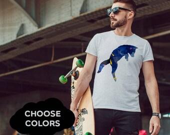 Fox T-shirt Custom Tshirt Custom Shirts Custom Tshirts Mens Custom Tshirts Customize Your Own Mens personalized Mens gift Mens Tshirt