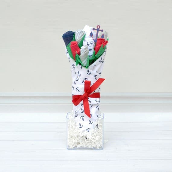 Anchors Away Baby Bouquet