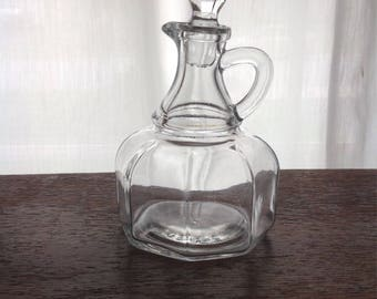 Hazel Atlas Glass Vinegar Cruet (K-105)