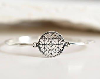 ORNAMENT bracelet in 925 sterling silver