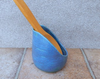 Spoon rest handthrown stoneware pottery spoonrest ceramic handmade wheel thrown
