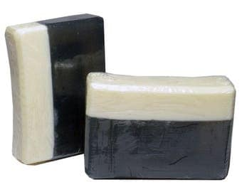 BLACK AMBER MUSK  Soap, 5oz Bar, Unisex Fragrance, Natural and Vegan Ingredients, Mango Butter Soap