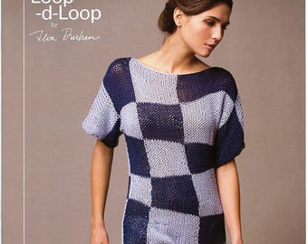 Loop-d-Loop by Teva Durham, Volume 4 Tahki Stacy Charles Knitting Pattern Book - 12 Designs for Women