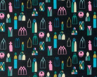 SALE - 1 yard - Escape in Midnight by Anna Maria Horner, Free Sprit Fabrics