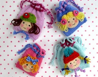 Bags of DOLLY Fun - dolly bags - party bags - PDF instant download