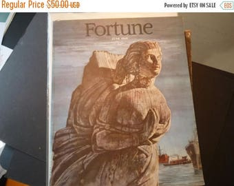 ON SALE Fortune Magazine June 1948 - Complete issue - Presidential issue very good condition - cover by Arthur Lidov retro ads pictures