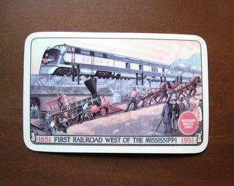 1951 Missouri Pacific Lines Pocket Card Calendar