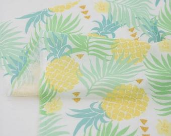 Sweet Pineapple Double Gauze 150cm WIDE, U352
