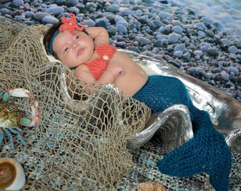 Mermaid Blanket - Mermaid Tail Blanket - Baby Mermaid Outfit - Crochet Mermaid Tail - Mermaid Outfit - Mermaid Tail Outfit - Mermaid Costume