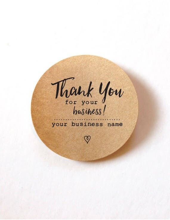 Thank You For Your Order Stickers Thank You For Your - Order custom stickers