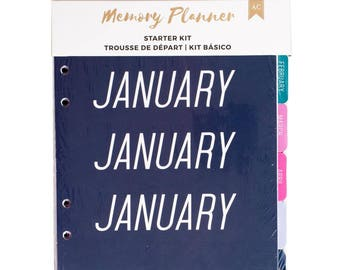 Marble Crush Mixed American Crafts Memory Planner Starter Kit (341219)