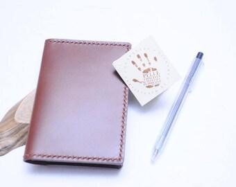 Ho-Ho-Sew Genuine Leather Passport Holder DIY Kit - Russel