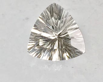Danburite 9mm Trillion Concave Cut 2.15ct Natural Untreated