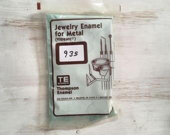 Robin's Egg Blue Liquid Enamel, Thompson Enamel, Liquid Enamel, Powdered Glass, Enameling Supplies, Kiln Enamel, Torch, 1 oz. sample enamel