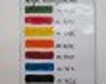 Pre Order Acrylic Enamel Set of 9, Thompson Enamel, Enamel, Painting with Fire Studio,