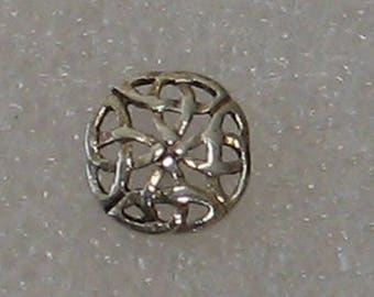 9mm Single  Celtic  Sterling  Post Single Earring