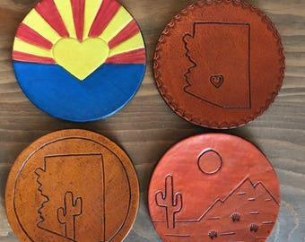 Arizona pride coasters