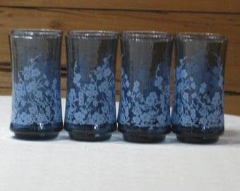 "Set of 8 Vintage Libbey ""Oriental"" 10 Oz. Beverage Glasses/Tumblers  MINT Condition"