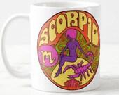 Scorpio Birthday Gift... Scorpio... Zodiac Gift... Scorpio Gift... Astrology Gift... Coworker Gift... Co Worker Gift... Birthday Mug
