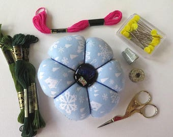 Extra Large Pincushion with Glass Button