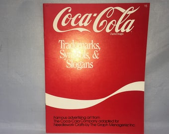 Coca-Cola Cross Stitch Designs -Trademarks, Symbols, & Slogans -