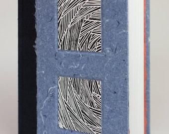Handmade blank case-bound book
