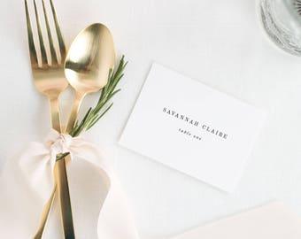 Savannah Place Cards - Deposit