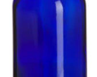 10 Glass Bottles Blue 2 ounce
