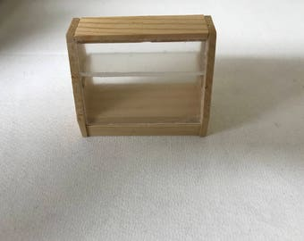 Counter Display Case, for the Dollhouse
