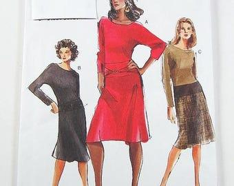 On Sale Vogue Dress Pattern 7775 - Misses' Dress in 3 Variations - Sz 6/8/10