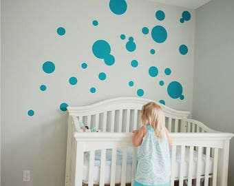 Vinyl Wall Sticker Decal Art - Bubbles