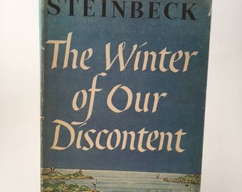 Vintage John Steinbeck The Winter Of Our Discontent 1961
