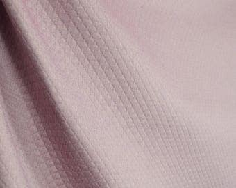Fabric REMNANT 2.75 Yards Soft Purple Aubergine Diamond Upholstery