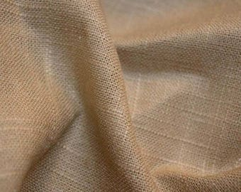 REMNANT Tan Textured Fabric 56 inches x 2.625 yards
